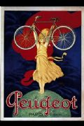 Vintage French cycling poster - Peugeot